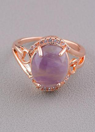 Перстень з аметистом