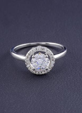 Кольцо 'big dipper' фианит (родий) 0559200
