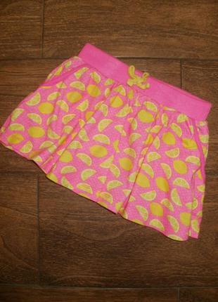 Трикотажная юбка на 4-5 лет