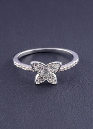 Кольцо 'big dipper' фианит (родий) 0559300