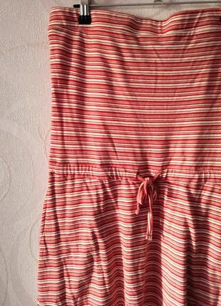Платье в полоску, бандо, платье коттон, платье на лето, платье...