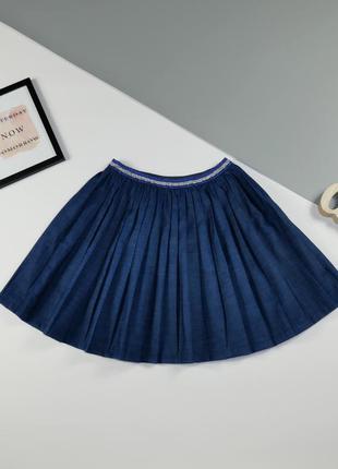 Джинсовая юбка 7-8 лет, рост 128 см