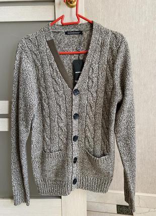 Кардиган тёплый свитер