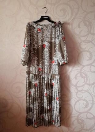Платье с плиссе в стиле гэтсби, винтаж, ретро, выпускной, плат...