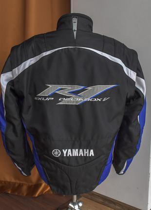Текстильная мотокуртка yamaha r1