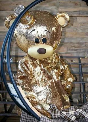 Ростовая кукла Золотой мишка Тедди