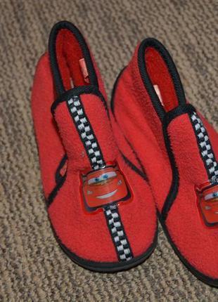 Дитячі теплі черевички дісней. червоного кольору