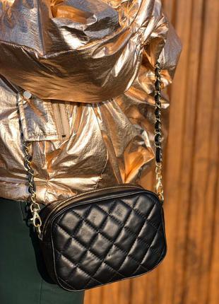 Кожаная сумка италия кроссбоди