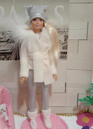 Одежда для кукол Барби.  Красивая зима.