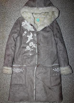 Пальто дубленка