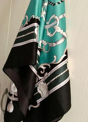 Классический атласный платок
