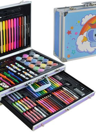 Набор для детского творчества (рисования) Foco в алюминиевом ч...