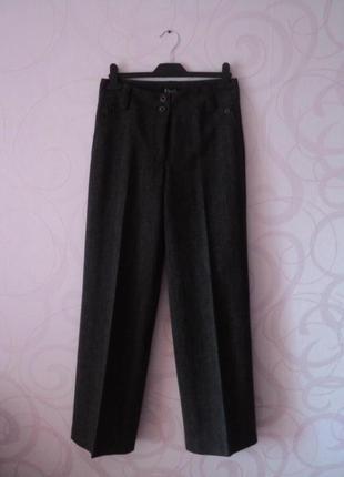 Коричневые брюки, деловые брюки в офис, классические брюки со ...