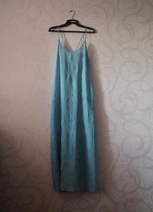 Пляжное платье, большой размер, легкое платье макси для пляжа,...
