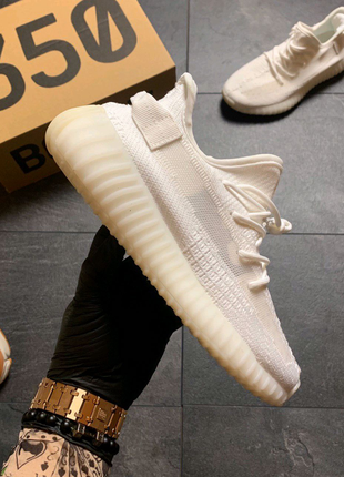 Кроссовки Adidas Yeezy Boost 350 v2 full white