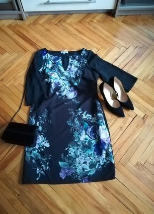 Нарядное платье в цветочный принт per una