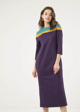 Оригинальное платье миди season