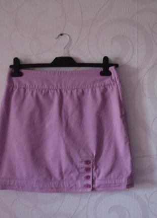 Мини-юбка в полоску, короткая юбка на лето, летняя юбка, спорт...