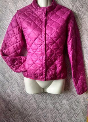 Стеганная демисезонная куртка 44 р