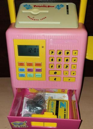 Развивающая игрушка банк для детей школьного возраста