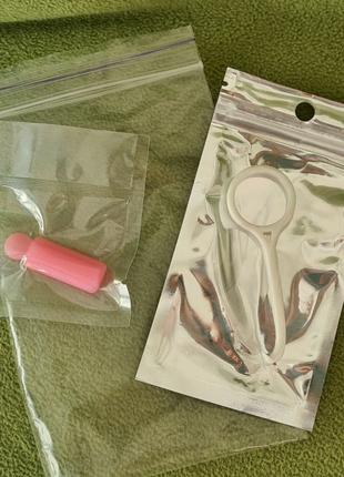Ортодонтический крючок для элайнеров. Aligner ortho key + chewie