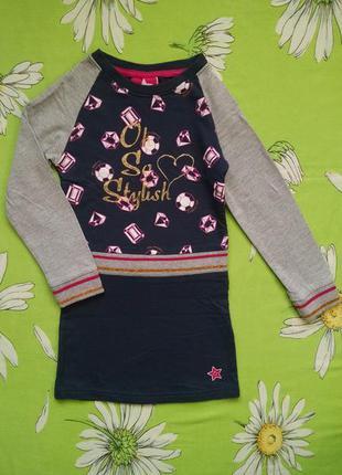 Платье,туника для девочки 4-5 лет