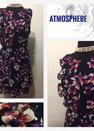 Воздушное платье .. цветочный принт
