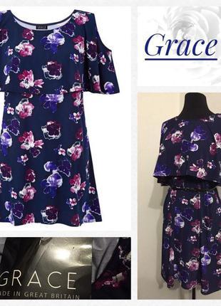 Очаровательное платье/туника.. цветочный принт...размер xxl/3xl