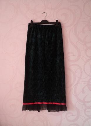 Бархатная юбка винтаж, юбка на выпускной, вечерняя юбка в бель...