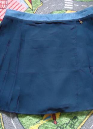 Фирменная плиссированая юбка