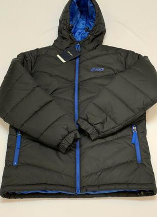 Мужская  зимняя куртка   asics   оригинал