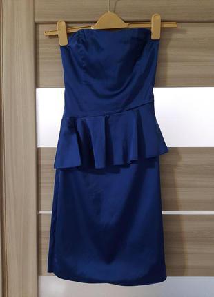 Продам платье насыщенного цвета электрик от love republic