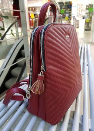 Рюкзак красный бордовый
