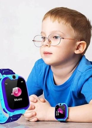 Детские смарт часы smart baby watch q12 прослушка sim  q100 q2...