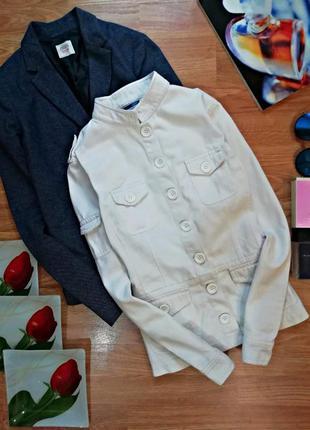 Женский плотный коттоновый жакет - пиджак oasis - размер 44