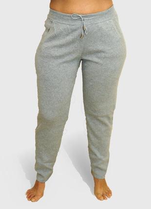 Трикотажные кашемировые штаны