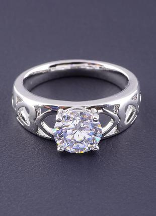 Кольцо 'xuping' фианит (родий) 0771920