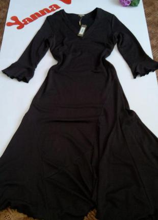 Теплое платье макси 50 размер новое в пол нарядное top vip зим...