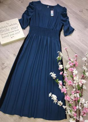 Красивое и стильное платье, платье вискоза, платье миди,