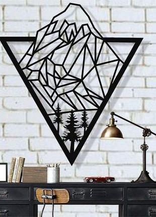 Настенное панно из металла, Лофт, Декор для офиса, гостиной, с...