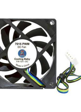 Кулер для корпуса Cooling Baby 7015 PWM