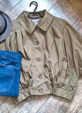 Мега трендовая объемная куртка-ветровка/летняя накидка/от h&m/...