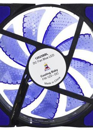Кулер для корпуса Cooling Baby 12025BBL