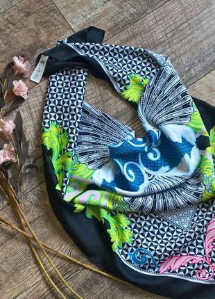 Красивый платок h&m c ракушками,яркий и стильный/италия