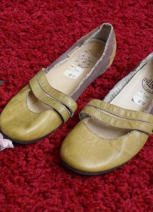 Балетки туфли palladium кожа замш -39p