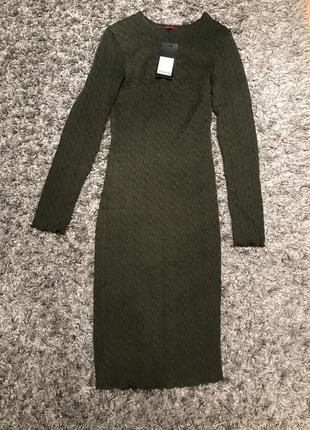 Платье чехол вязка