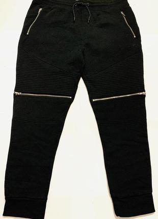 Утеплённые штаны на флисе