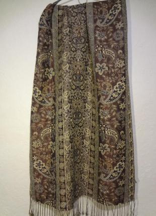 Богатый красивый шарф/платок