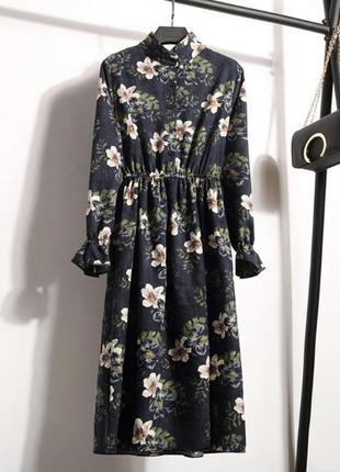 Вельветовое платье m и l