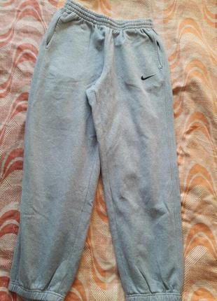 Спортивные тёплые штаны nike